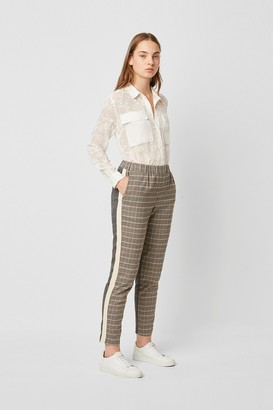French Connection Amati Check Tailored Joggers