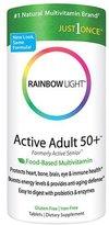 Rainbow Light Active Senior Safeguard Multivitamin Tabs, 90 ct