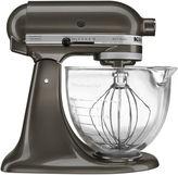 KitchenAid Kitchen Aid 5-qt. Artisan Design Series Stand Mixer + Glass Bowl KSM155GBCA