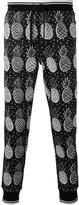 Dolce & Gabbana pineapple print trousers - men - Cotton - 46