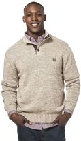 Chaps Men's Classic-Fit Mockneck Twist Sweater