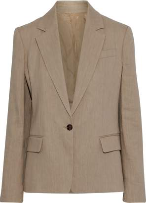 Joseph New Williams Linen-blend Twill Blazer