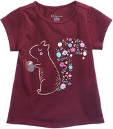 First Impressions Squirrel-Print Cotton T-Shirt, Baby Girls (0-24 months), Created for Macy's