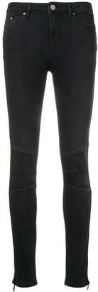 Karl Lagerfeld Paris side zip skinny jeans