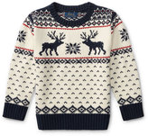 Ralph Lauren Reindeer Knit Sweater, Size 5-7