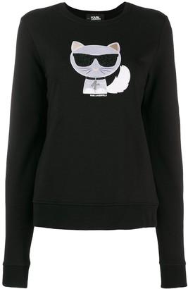 Karl Lagerfeld Paris Ikonik Choupette sweater