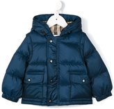 Burberry hooded puffer jacket - kids - Polyester/Duck Feathers - 18 mth