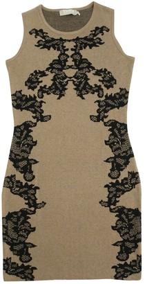 Thomas Rath Brown Wool Dress for Women