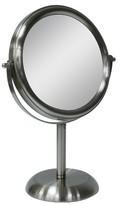 Threshold Orb Mirror - Brushed Nickel