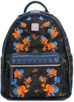 MCM floral design backpack