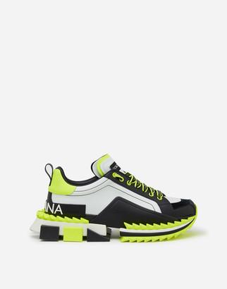 Dolce & Gabbana Fluorescent Multicolored Super King Sneakers