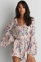 American Eagle Outfitters AE Wrap Romper