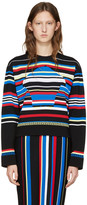 Versace Multicolor Striped New York Pullover