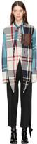 J.W.Anderson Multicolor Check Macpherson Shirt
