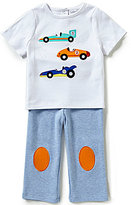 Starting Out Baby Boys 12-24 Months Car-Appliqued Tee & Pants Set