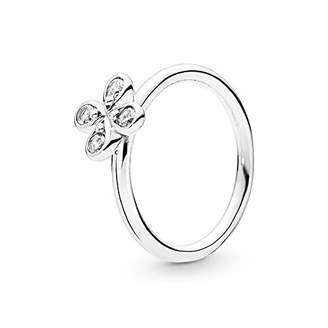 Pandora Women Silver Eternity Ring 197967CZ-52