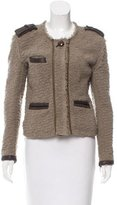 Isabel Marant Leather-Accented Textured Jacket