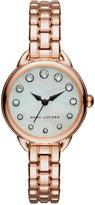 Marc Jacobs Women's Betty Rose Gold-Tone Stainless Steel Bracelet Watch 28mm MJ3511
