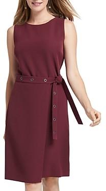 Nic+Zoe Sleeveless Belted Dress