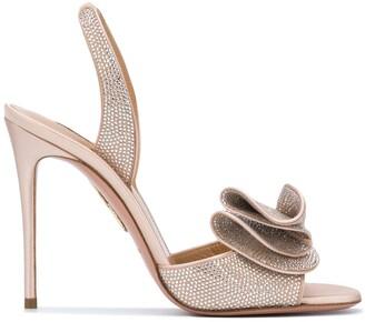 Aquazzura Cherry 105mm sandals