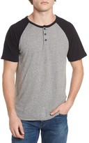 Lucky Brand Men's Colorblock Henley T-Shirt