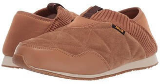 Teva Ember Moc Shearling (Dark Shadow) Men's Shoes