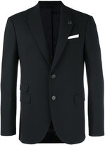 Neil Barrett pocket front blazer - men - Cotton/Polyester/Spandex/Elastane/Virgin Wool - 48