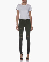 Paige VERDUGO ULTRA SKINNY-BLACK SHADOW DESTRUCTED