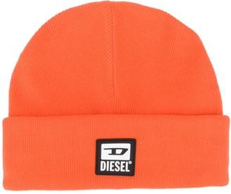 Diesel Logo Patch Beanie