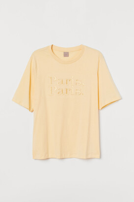 H&M H&M+ Text-design T-shirt