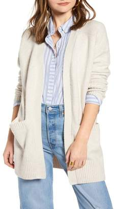 Treasure & Bond Throw-On Cotton & Wool Blend Cardigan