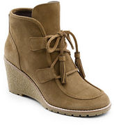 G.H. Bass Teresa Suede Wedge Boots