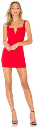superdown Cici Square Neck Mini Dress