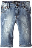 Dolce & Gabbana Distressed Five-Pocket Jean (Infant)