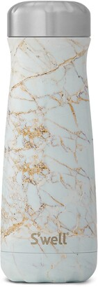 Swell Traveler Calcatta Gold 20-Ounce Insulated Stainless Steel Water Bottle