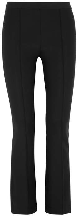Helmut Lang Black Cropped Jersey Trousers