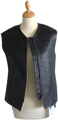 Etoile Isabel Marant Black Shearling Jackets