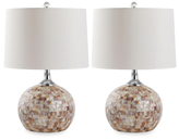 Safavieh Capiz Mosaic Lamps (Set of 2)