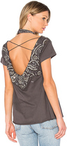 Haute Hippie More Of It All Tee in Gray