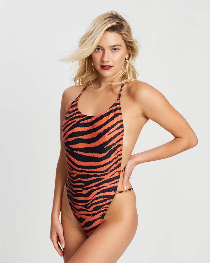 847219863e One Piece Cut Out Swimwear - ShopStyle Australia