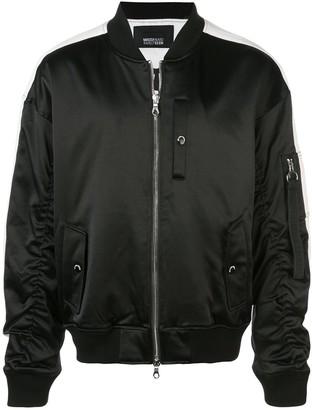 Mostly Heard Rarely Seen Track MA-1 jacket