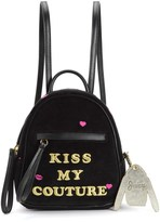 Juicy Couture Kiss My Couture Mini Backpack