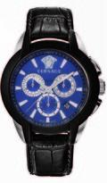 Versace Character Collection VQN010015 Men's Stainless Steel Quartz Watch