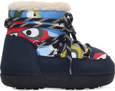 Fendi Elder suede and sheepskin moon boots 4-8 years