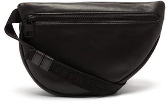 Alexander McQueen Logo-debossed Leather Belt Bag - Mens - Black