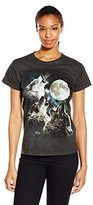 The Mountain Junior's Three Wolf Moon Graphic T-Shirt