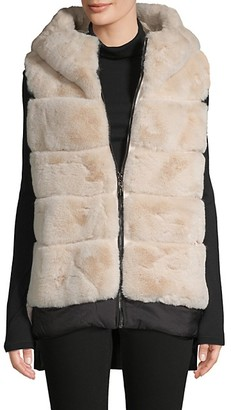 Belle Fare Oversized Faux Fur Vest
