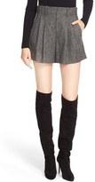 Alice + Olivia Women's 'Eloise' Double Pleat Shorts