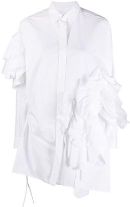 Enfold Ruffled Shirt