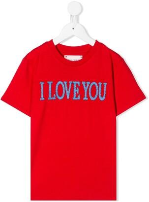 Alberta Ferretti Kids I Love You T-shirt